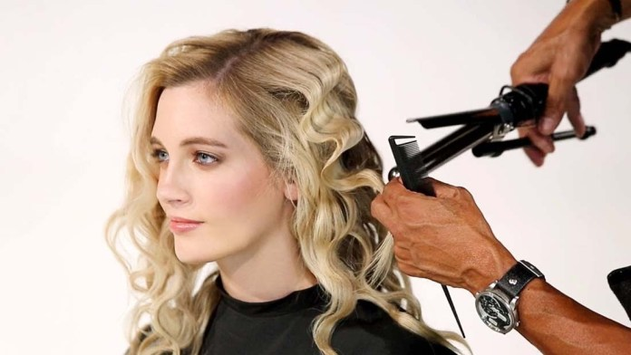 Video Alert! How To: Create Horizontal Waves With a Marcel Iron   Ruffled Waves