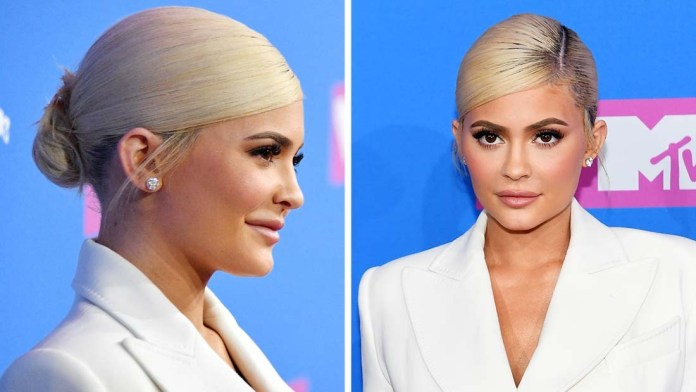 Get the Look: Kylie Jenner VMAs Sleek Style by Andrew Fitzsimons