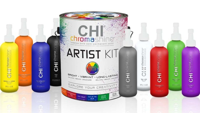 Creativity Unleashed with CHI Chromashine Intense Bold Semi-Permanent Hair Color Line