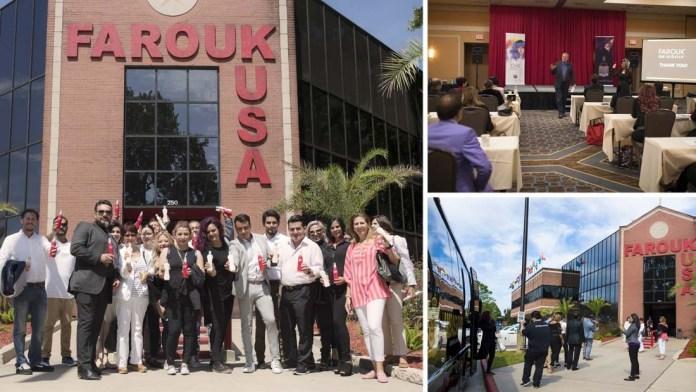Farouk Systems hosts Latin American Distributor Meeting in Houston, TX
