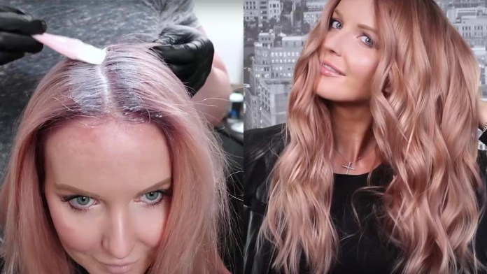 Video Alert! How To: Color Correction + Rose Goldie Hair Transformation