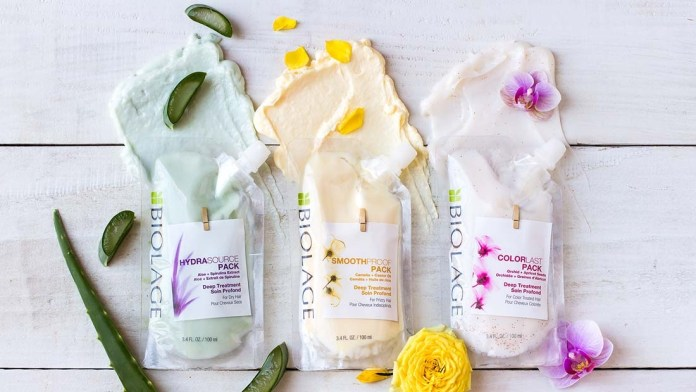 Introducing the NEW Biolage Deep Treatment Packs for Healthier Feeling Hair