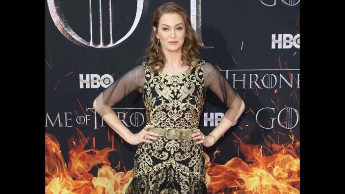 Get the Look! Game of Thrones' Actress, Esme Bianco by T. Cooper for ECRU New York