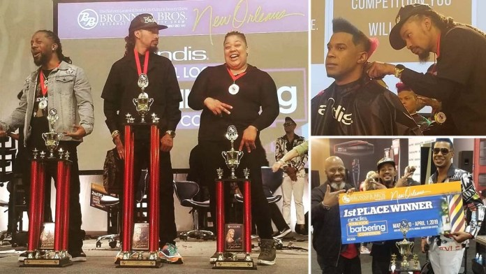 Barberlife! Andis announces Winners of Total Look Competition at Bronner Bros New Orleans