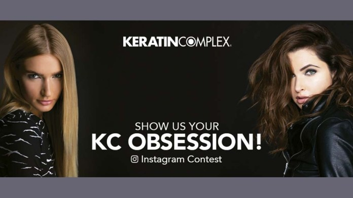 """Keratin Complex announces """"Show Us Your KC Obsession"""" Instagram Contest for Stylists!"""
