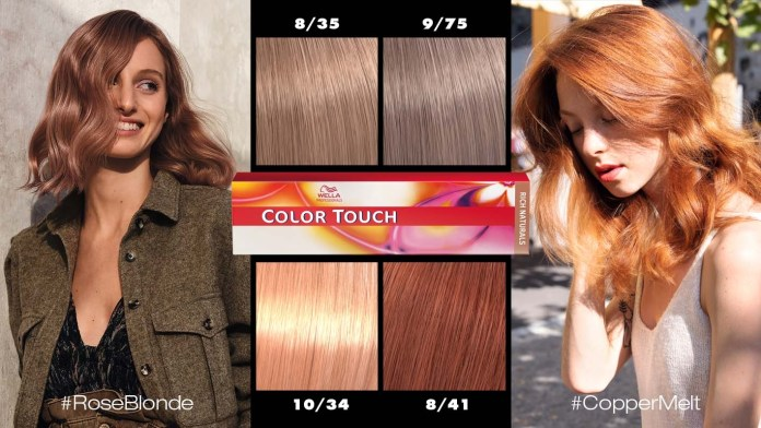 Wella Professionals launches four Color Touch shades for Quick Glossing Service