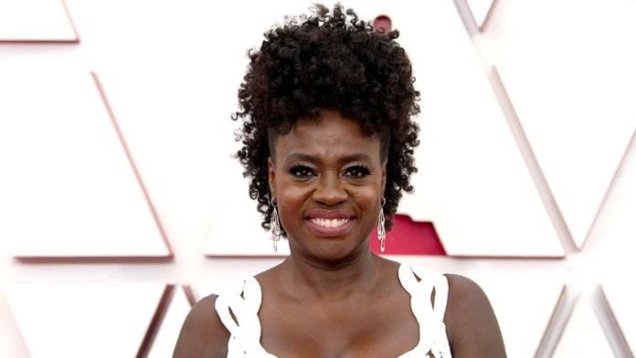 Get the Look: Viola Davis Oscars' Gorgeous Updo by Jamika Wilson