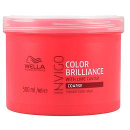 Masca pentru Par Vopsit, Aspru - Wella Professionals Invigo Color Brilliance Vibrant Color Mask Coarse Hair, 500ml