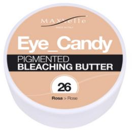 Unt Decolorant Pigmentat - Maxxelle Eye Candy Pigmented Bleaching Butter, nuanta 26 Rose, 100g