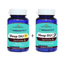 Sleep Duo Am/PM Zen Forte Herbagetica, 120+120 capsule