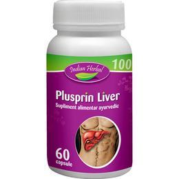 Plusprin Liver Indian Herbal, 60 capsule