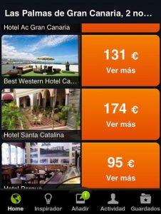 Buscador hoteles en @Minube
