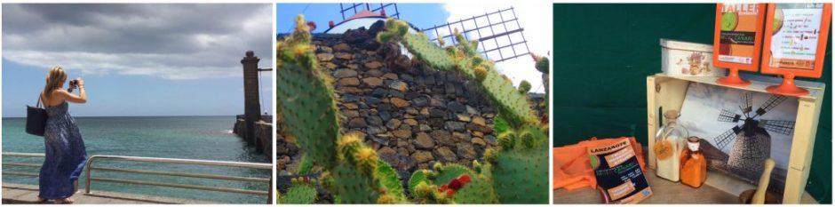 García Team en Lanzarote verano 2015. Arrecife, jardin de cactus, mercadillo teguise