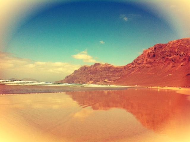 Famara fuente de inspiración Cesar Manrique, Lanzarote
