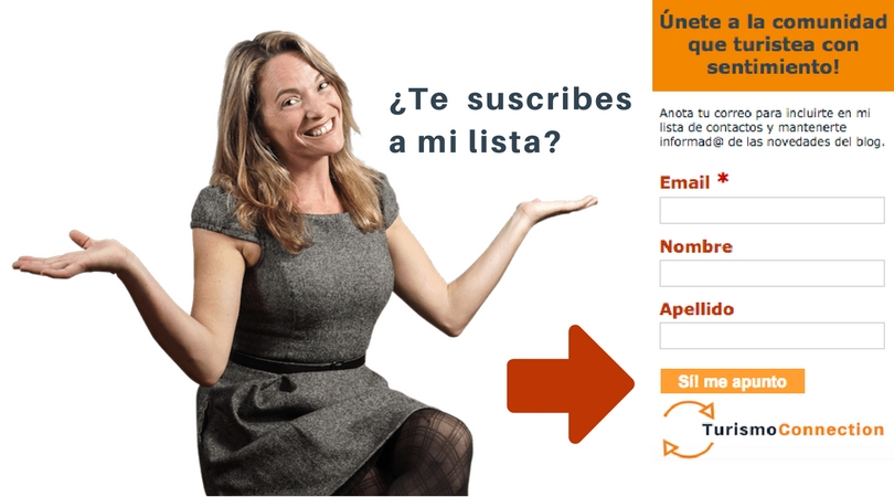 suscribete a turismo connection esthergarsan