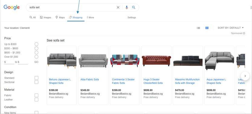 Google Shopping Ads -Esther Goh Tok Mui