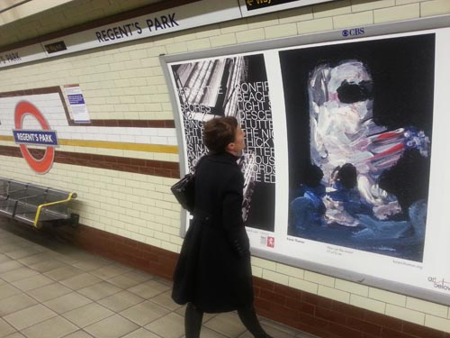 Art_Below_Regents_Park_Underground_London_Man_on_the_moon_Postcard_collectible