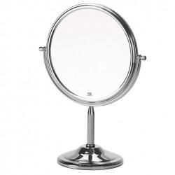 Miroir Grossissant Sur Pied Avec Un Cote Normal Et Un Cote Grossissant Par 5