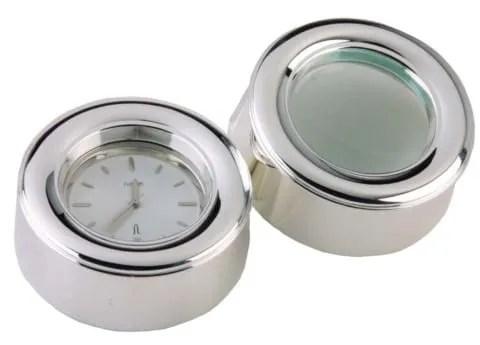 Reloj y Lupa