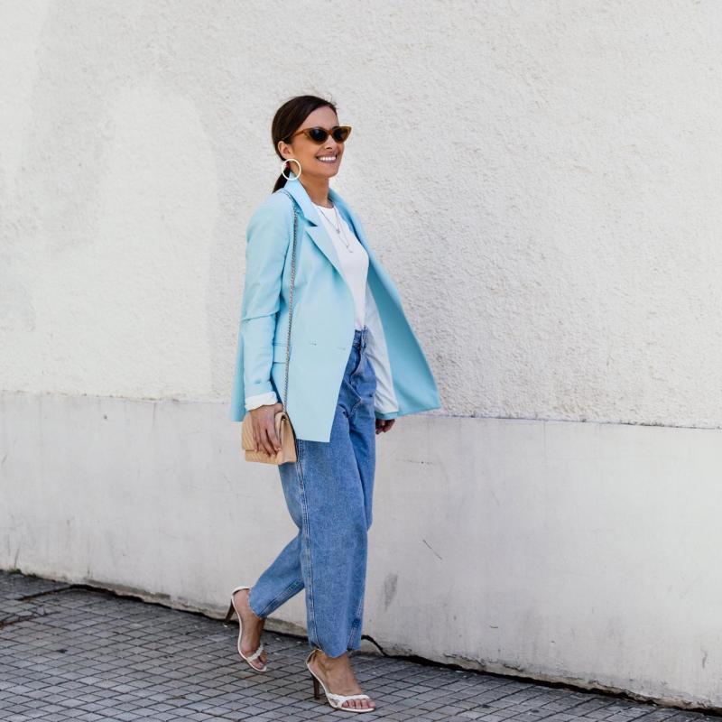 Calça semi baggy - Mom jeans - Como usar