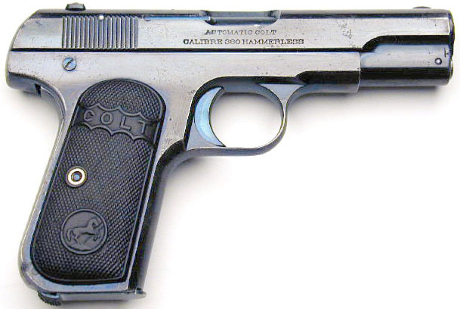 Colt-1908-Pocket-Hammerless-.380-ACP