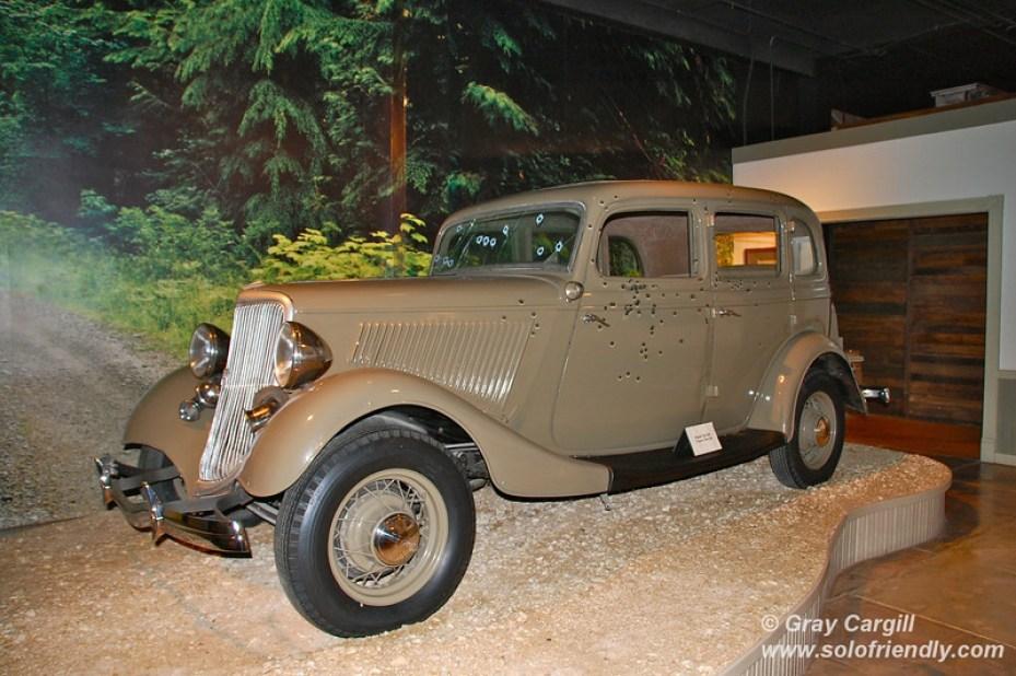 Bonnie e Clyde Ford model B V8