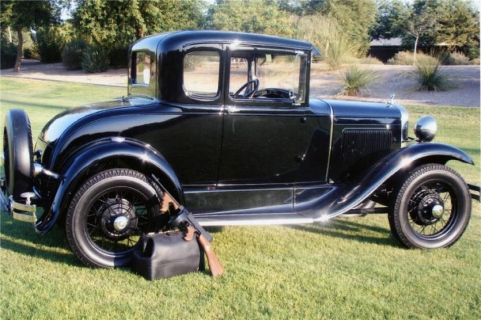 John Dillinger Ford model A