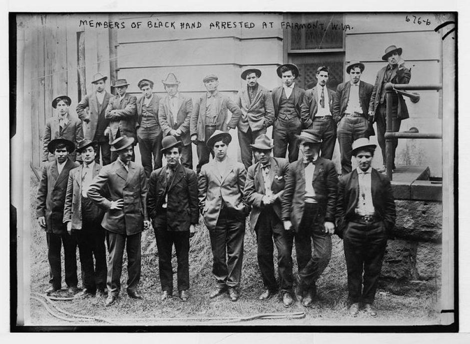 membros da black hand no 1900