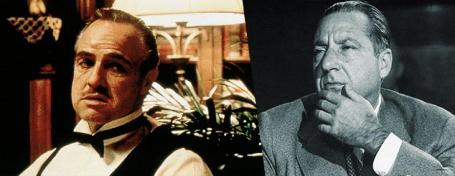 Vito Corleone e Frank Costello