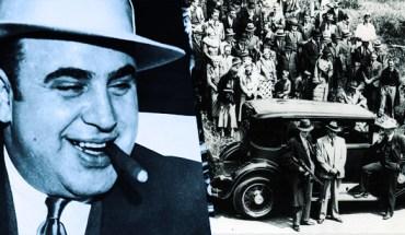 Al Capone no seu estilo swag