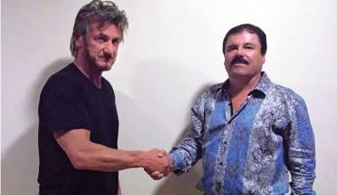 el chapo guzman e Sean Penn