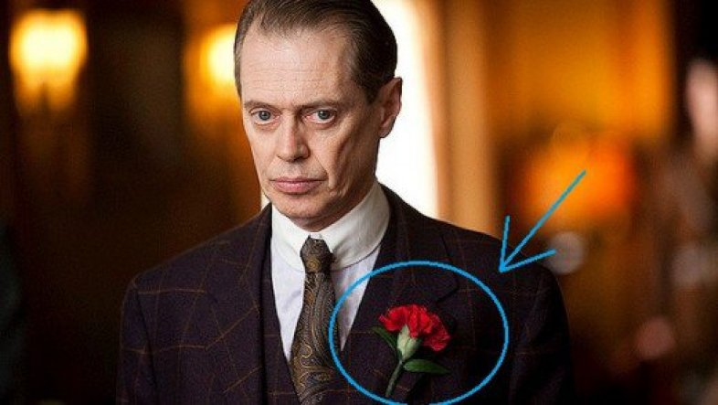O boutonniere Nucky thompson