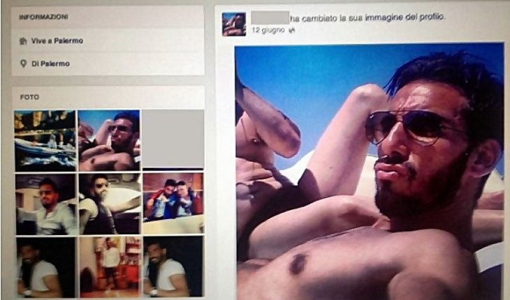 boss em facebook Domenico Palazzotto