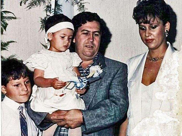 familia-pablo-escbar