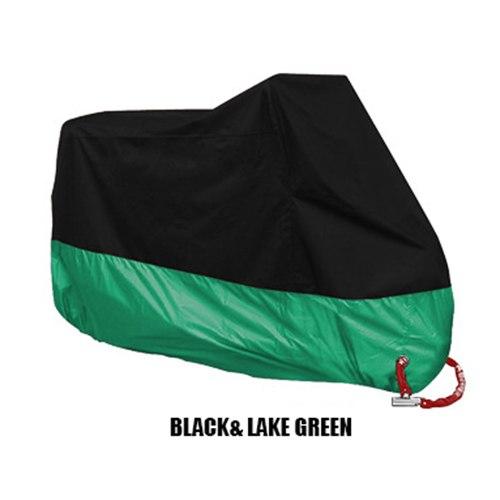 Funda protectora para moto SE Verde oscuro