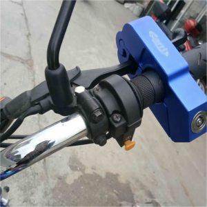 Bloqueo de freno y acelerador de motocicleta de aluminio CNC