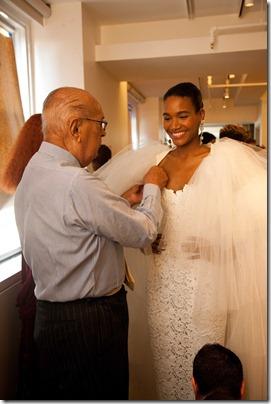 Peinados para novias negras