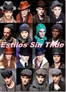 Tendencias gorros invierno hombre 2012-2013