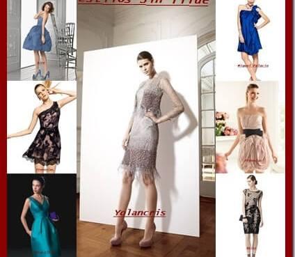 Tendencias vestidos cortos invitadas boda 2013