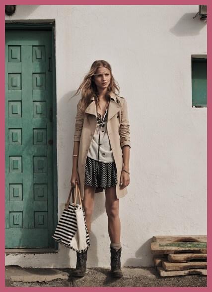 Falda SKATER, moda Primavera 2014