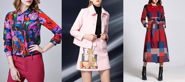 2017 women fashion trends: Red and pink are imposed