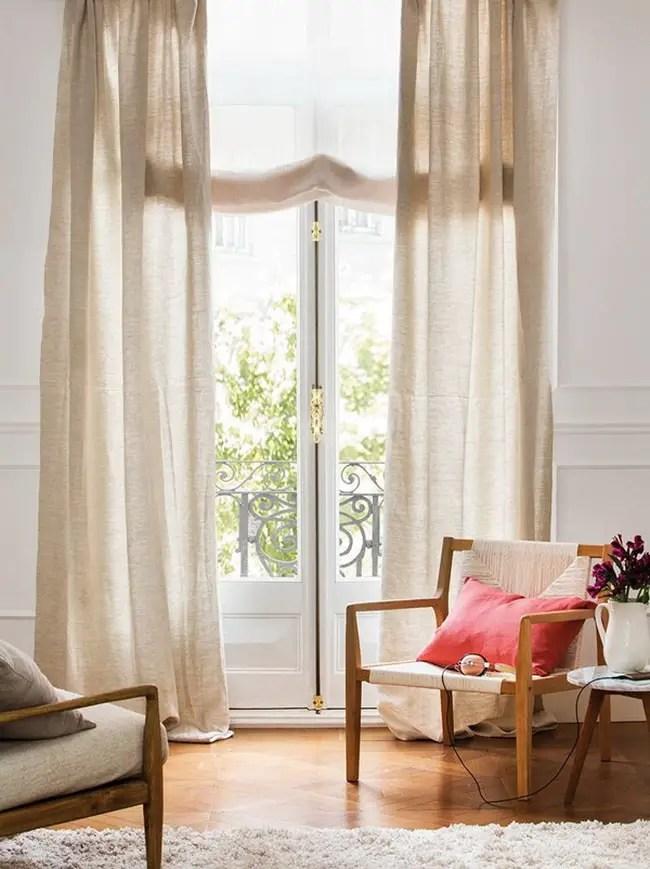 Cómo escoger las mejores cortinas para el salón ... on Tendencias Cortinas Salon 2020  id=96369
