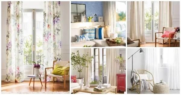 Cómo escoger las mejores cortinas para el salón ... on Tendencias Cortinas Salon 2020  id=19738