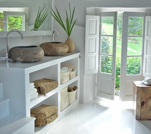 Muebles de obra tradici n renovada decoraci n estilo - Muebles ibicencos ...