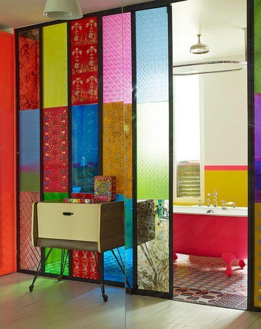 Cómo decorar con cristales de colores