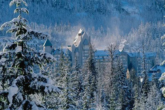 The Fairmont Chateau Whistler, which still has holiday openings, is offering guests free lift tickets.