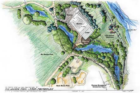 Theatre Aspen & John Denver Sanctuary to Get New Rio Grande Entry, ADN Image