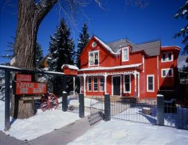 Ugly Fight Over the Little ?Red Ski Haus Continues, ADN Image
