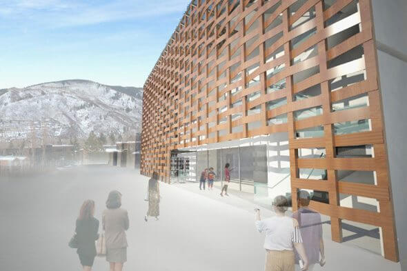 Aspen Art Museum Breaks Ground for New Downtown Site, AT Image