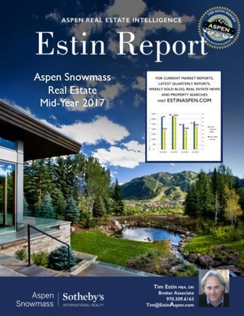 Estin Report: Mid-Year 2017: State of Aspen Real Estate Image